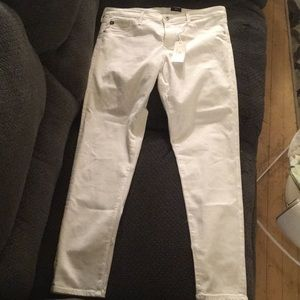 Adriano Goldschmied Jeans white super skinny ankle